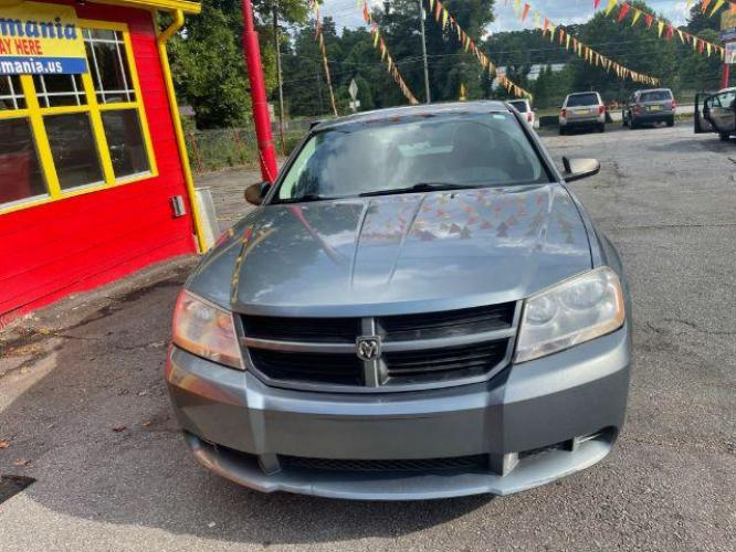 2010 Gray Dodge Avenger SXT (1B3CC4FB1AN) with an 2.4L L4 DOHC 16V engine, 4-Speed Automatic transmission, located at 1806 Veterans Memorial Hwy SW, Austell, GA, 30168, (877) 638-4118, 33.817959, -84.606987 - Photo #2